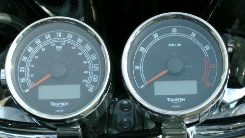 triumfas & nbsp, raketas & nbsp, 3 & nbsp, motociklas & nbsp, spidometras, motociklas & nbsp, spidometras & nbsp, rpm & nbsp, skaitiklis, motociklas, motociklai, speedo, spidometras, rpm, rev & nbsp, skaitiklis, skaitiklis, greitis, dviratis, dviračiu, agusta, viešasis & nbsp, domenas, Triumfas raketų 3 spidometro matuokliai