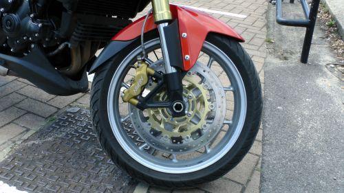 triumfas, tigras, motociklas, ratas, ratai, motociklai, motociklas, motociklai, dviratis, dviračiai, dviračiai, baikeris, triumfas tigro motociklo ratas