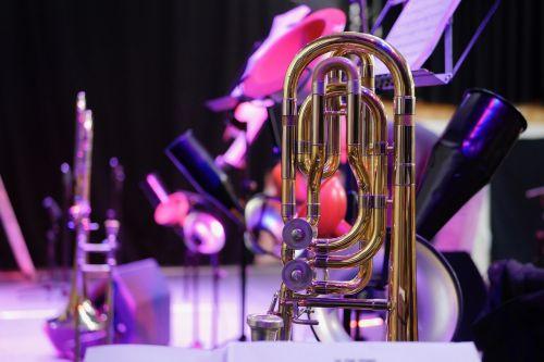 trombonas,etapas,koncertas,didelė juosta,džiazas,muzika,grupė,muzikos scenos,gyvas koncertas,įvykis