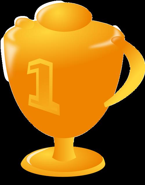trofėjus,taurė,Pirmas,nugalėtojas,apdovanojimas,premija,apdovanojimas,laimėti,konkursas,pagarba,nemokama vektorinė grafika
