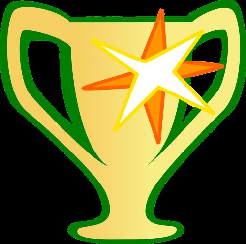 trofėjus,apdovanojimas,auksas,blizgantis,taurė,premija,nugalėtojas,pasiekimas,sėkmė,pasiekimas,nemokama vektorinė grafika