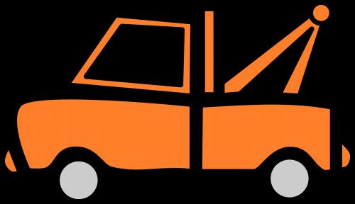 sunkvežimis,oranžinė,transporto priemonė,evakuatorius,suskirstymo sunkvežimis,sunkvežimis,atstatymo sunkvežimis,avarija,vilkimas,vilkti,kelias,paslauga,nemokama vektorinė grafika