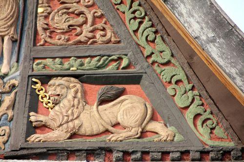 santūra,dekoruoti,gyvūnas,liūtas