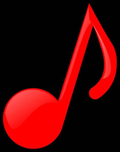 melodija,melodija,pastaba,muzika,raudona,muzikinis,nemokama vektorinė grafika