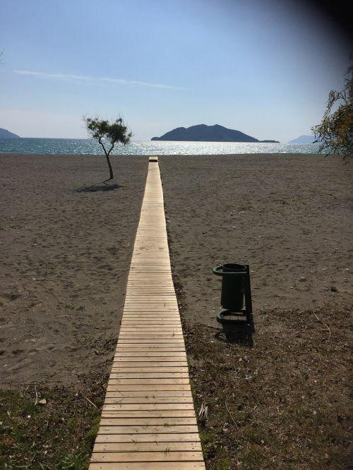 Turkija,jūra,vanduo,mėlynas,prieplauka,turkų riviera,vasara,papludimys,sala,šventė,toli,kranto,gamta