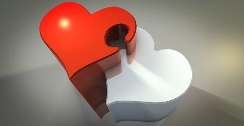 du,širdis,kartu,sėkmė,santykiai,ryšys,pažadas,simbolis,ryšys,lojalumas,derina,atvirukas,Valentino diena,romantiškas,meilė