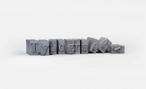 tipografija,blokai,objektai,įspaudas