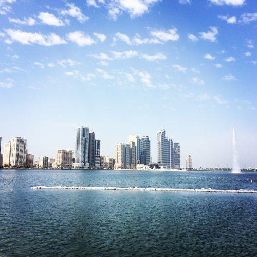 uae, vanduo, emiratai, united, Arabas
