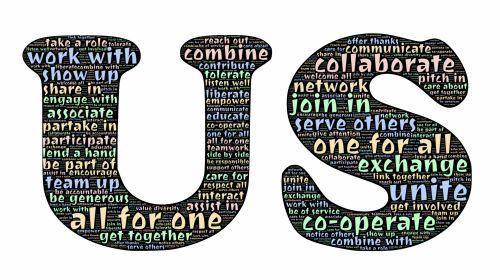 ryšys, sąjunga, vienybė, bendradarbiavimas, bendradarbiavimas, asociacija, dalyvavimas, įsitraukimas, dosnumas, dalijimasis, parama, komandinis darbas, prisijungti, paslauga, parama, tolerancija, bendravimas, suvienyti, visi & nbsp, už & nbsp, vieną, vienas & nbsp, už & nbsp, viską, suteikti įgaliojimus, pagarba, abipusis, interac, vienybė yra mus