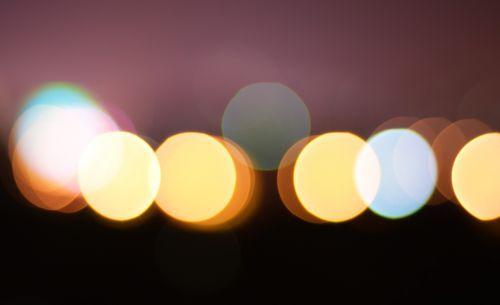 nerealu,šviesa,supainioti,Bokeh,poveikis,ratas,vėlai,fuzzy,neryškus,fonas
