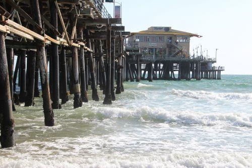 usa,santa monica paplūdimys,papludimys,santa monica,Venecijos paplūdimys,Kalifornija,šventė,jūra,Los Andželas,vandenynas,vandenys,internetas,prieplauka