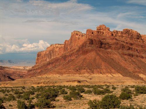 Utah,kalnai,vaizdingas,raudonos uolos,usa,kraštovaizdis