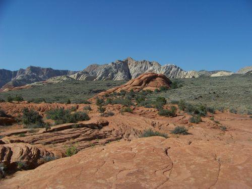 Utah, Sniego Kanjonas, Gamta, Kraštovaizdis, Rokas, Vaizdingas, Dykuma, Dykuma