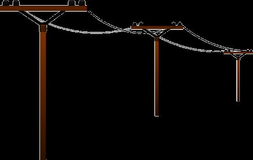 naudingumo stulpelis,elektrinis bokštas,galios polius,oro kabelis,oro linija,oro linija,jėgos linija,perdavimo linija,elektrinis,energija,pole,galia,bokštas,nemokama vektorinė grafika