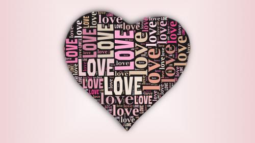 valentines,valentine,širdis,meilė,tipografija,tipografija pagal formą,žodis debesis,tag cloud,rožinis,būk mano Valentinas,rausvos spalvos