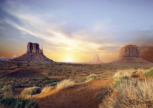 Slėnis, Dykuma, Kalnas, Kraštovaizdis, Sausas, Dykuma, Kanjonas, Arizona, Peizažas