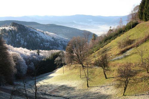 slėnis,Morgentau,Juodasis miškas