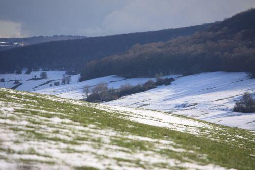 slėnis,žiema,kraštovaizdis,france,ouche slėnis,Burgundija,bourgogne,pieva,sniegas,perspektyva