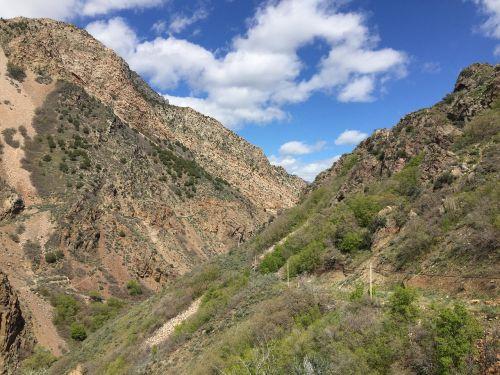 slėnis,vaizdingas,gamta,kalnas,Utah,lauke