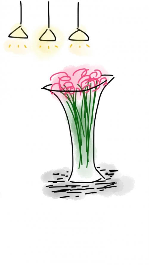 vazos,gėlės,šviesa,pakabos žibintai,lelija,spalva,namai,gėlių,išdėstymas,geltona,stilius,interjeras,stalas,šilta šviesa,švelni šviesa,linksmas,šviesus,patalpose,eskizas,doodle