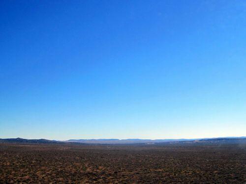 dangus, didelis, žemė, didžiulis, pusiau dykuma, šiaurės & nbsp, viršūnė, didelis horizontas