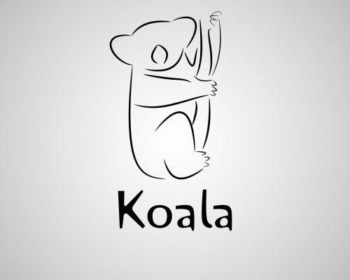 vektorius,iliustratorius,koala,ai