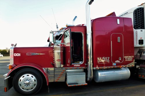 transporto priemonės, transportas, Sunkvežimis, Truk, sunki, Nė vienas asmuo, Sunkvežimis Sunkvežimis, traktorius, JAV