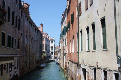 Venecija, Kanalas, Architektūra, Italy, Seni Namai, Paminklas, Namai, Vanduo, Tiltas, Miesto Namai, Turizmas, Seni Pastatai