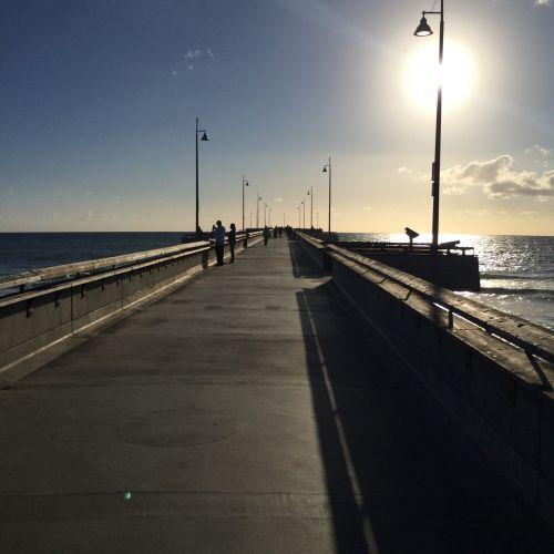 Venecijos paplūdimys,Kalifornija,prieplauka,papludimys,Venecija,usa,angeles,los,saulė,dangus,mėlynas,vandenynas,smėlis,Kalifornijos paplūdimys,kelionė