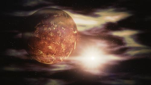 Venus,erdvė,visata,saulės sistema,saulė,tūslė,planeta,blenderis,3d art,kosmosas,galaktika,žvaigždės