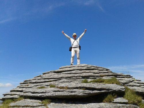 laimėti,pergalė,pasiekimas,dartmoor,tor,pasiekimas,įkvėpimas,motyvacija,pasaulio viršūnėje,elation,pasiektas tikslas