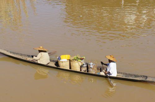 Vietnamas,asija,upė,boot,vietnamiečių,Irklavimas,Mekong upė,skrybėlę