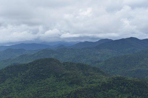 Peržiūrėti, žygis, kalnų, kalnai, dangus, Rokas, Alpine, lauko, Turizmas, upė, Adirondacks, Niujorkas, tyrinėti, tyrinėti