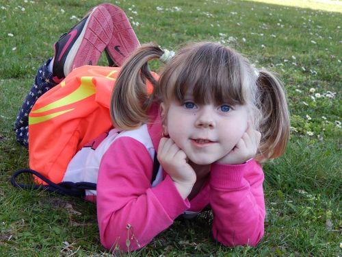 vaizdas, vaikas, maža mergytė, Adelka