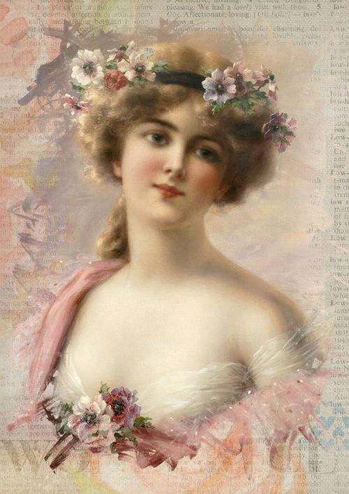 vintage,moteris,menas,koliažas,plaukai,romantiškas,gėlių,gėlės,senovinis skaitmeninis menas,skaitmeninis menas,skaitmeninis,rožinis,suknelė,portretas,suaugęs,Lady,žmonės,Moteris,stilius,Menas ir amatai,patrauklus,graži,kelia,amatų,tradicinis,istorija,meno,mielas,mada,dekupažas