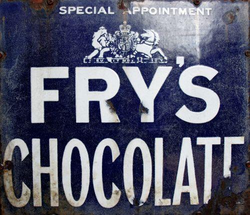 vintage, reklama, šokoladas, ženklas, Reklama, reklama, senas, susikrimtęs, metalas, Senovinis, kepkite, kepti šokoladą, rusvas, amžius, saldainiai, saldainiai, mėlynas, Laisvas, viešasis & nbsp, domenas, senovinių metalų reklaminis šokoladinis ženklas
