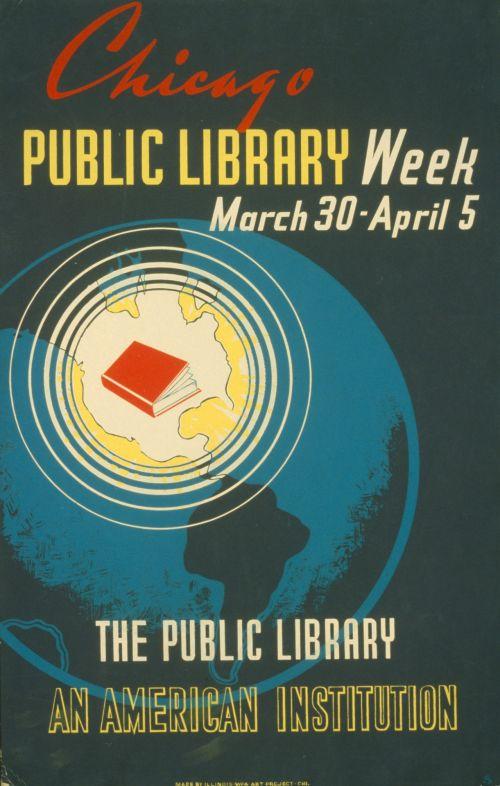 Iliustracijos, clip & nbsp, menas, iliustracija, grafika, vintage, plakatas, vintage & nbsp, plakatas, biblioteka, mokymasis, skaitymas, žinios, visuomenė, senovinis viešosios bibliotekos plakatas