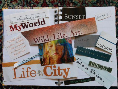 vizijos lenta,pasireiškimas,iškarpų albumas,Scrapbooking,žurnalas,išpjovos,laikraštis,idėjos,įkvepiantis,įkvėpimas,ikvepiantis,citatos,žurnalas,žurnalas,dienoraštis,koliažas,Naujasis amžius,dvasingumas,citata,žodžiai,pasakymai