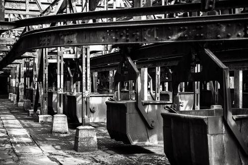voelklinger,namelis,industrija,pramoninis paveldas,sąskaitą,koksavimo gamykla,metalas,geležis,plieno gamykla,sunkioji industrija,pramoninė gamykla,aukštakrosnė,Saarlandas,völklingen,gamykla,juoda ir balta
