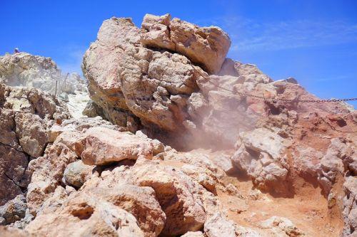 vulkanas,garai,sieros garai,kraterio ratukas,teide,pico del teide,aukščiausiojo lygio susitikimas,vulkaninis krateris,krateris,siera,lava,lavos laukas,vulkaninis,teyde,Teide nacionalinis parkas,Tenerifė,Kanarų salos