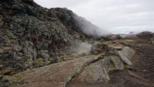 vulkanas,lava,garai,iceland