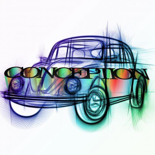 vw, Volkswagen, koncepcija, rankraštis, planą, eskizas, projektai, pristatymas, pirmoji versija, koncepcija, programa, projektas, gydymas, išdėstymas