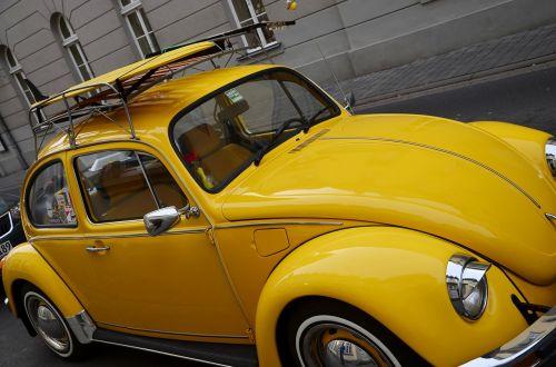 vw vabalas,automatinis,Volkswagen,klasikinis,vabalas,vw,transporto priemonės,geltona,geltonas vw vabalas