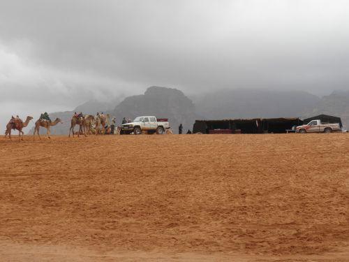 Wadi, Wadi Rum, Smėlis, Jordan, Dykuma, Gamta