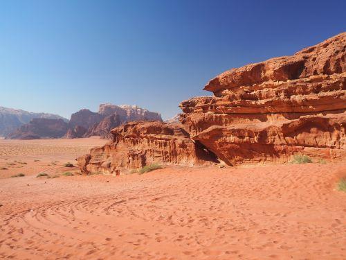 Wadi Rum, Jordan, Dykuma