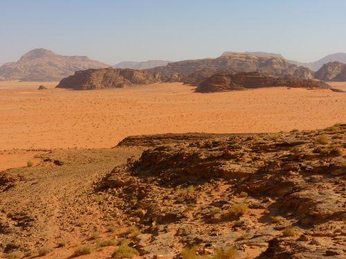 Wadi Rum, Negev, Negev Dykuma, Jordan, Šventė, Kelionė, Artimieji Rytai, Kraštovaizdis, Gamta, Dykuma, Smėlis, Safari