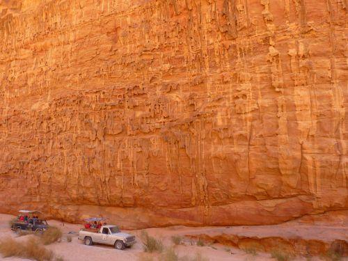 Wadi Rum, Negev, Negev Dykuma, Jordan, Šventė, Kelionė, Artimieji Rytai, Dykuma, Išplovimas, Erozija, Kraštovaizdis, Gamta, Smėlis, Safari