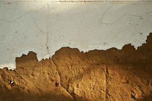 siena, plikas, dažyti, balta, pakeliamas, įtrūkimai, siena su dažų kėlimu