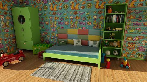 tapetai,kambarys,siena,butas,vaikų kambarys,interjero dizainas