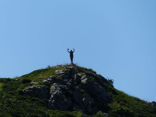 Vaikščioti, Asmuo, Žmogus, Moteris, Banga, Gipfelchen, Žygis, Kalnai, Kalnas, Žolinis Nuolydis, Takas, Jūrų Alpės, Gta, Grande Traversata Delle Alpi, Ilgo Nuotolio Takas, Alpių, Monte Pianardas